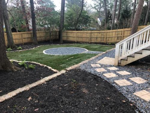 March 2019 - Backyard Renovation 2