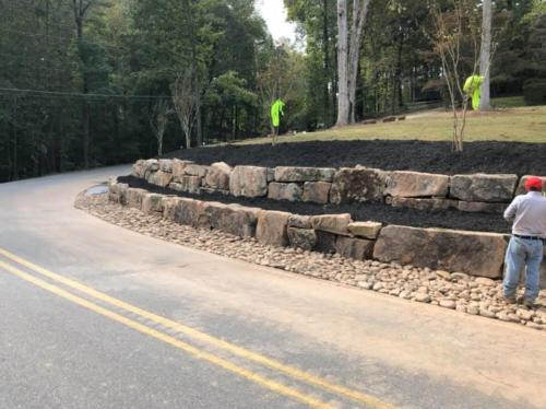 March 2019 - Bolder Retaining Wall